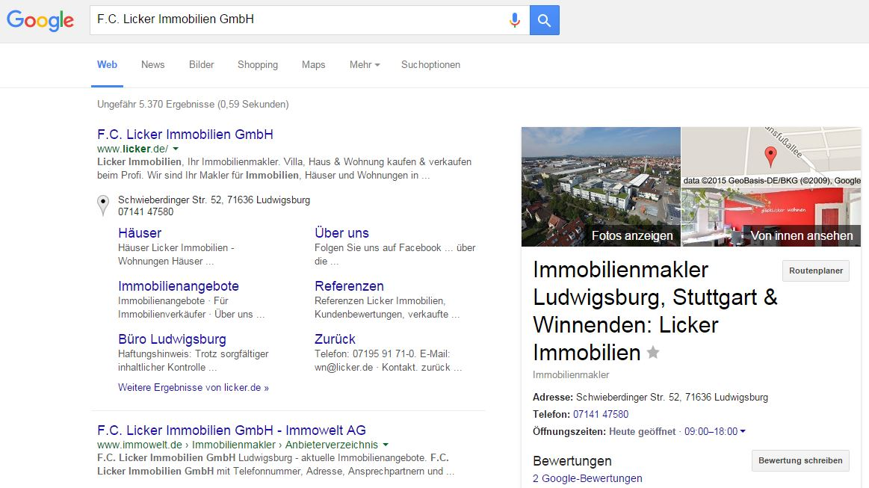 google_lickerimmo