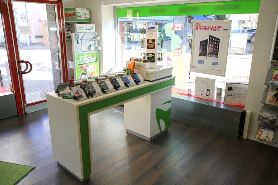 MoCos Mobilfunk - Die Filiale in Lauffen von innen