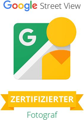 Google Street View - Google zertifizierter Fotograf für Panorama Aufnahmen & Touren