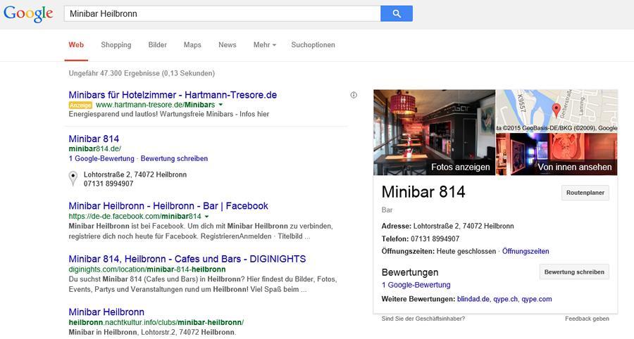 Minibar in Heilbronn Thumb
